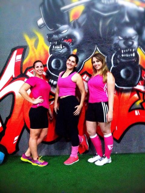meninas de rosa