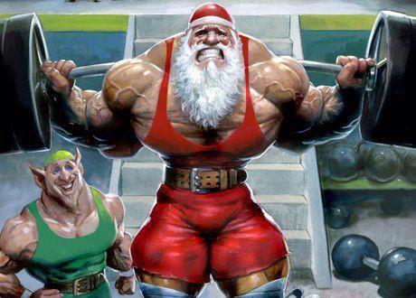 CrossFit-Santa