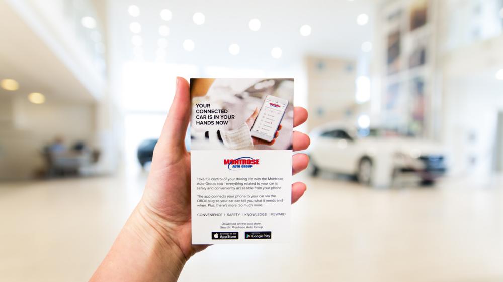 Custom Dealer App Point of Purchase Kit - click for more