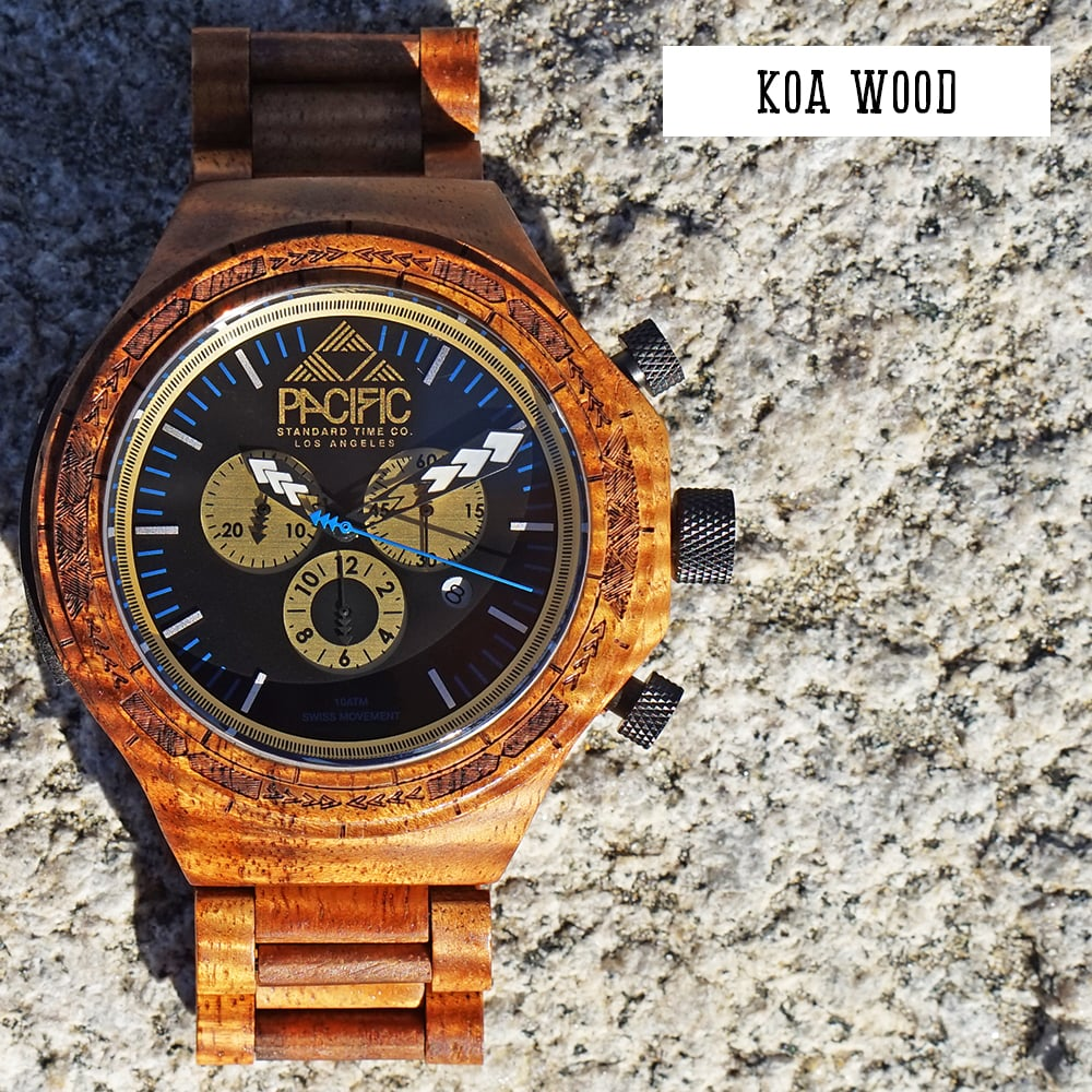 Pacific Standard Time Company- Koa Wood