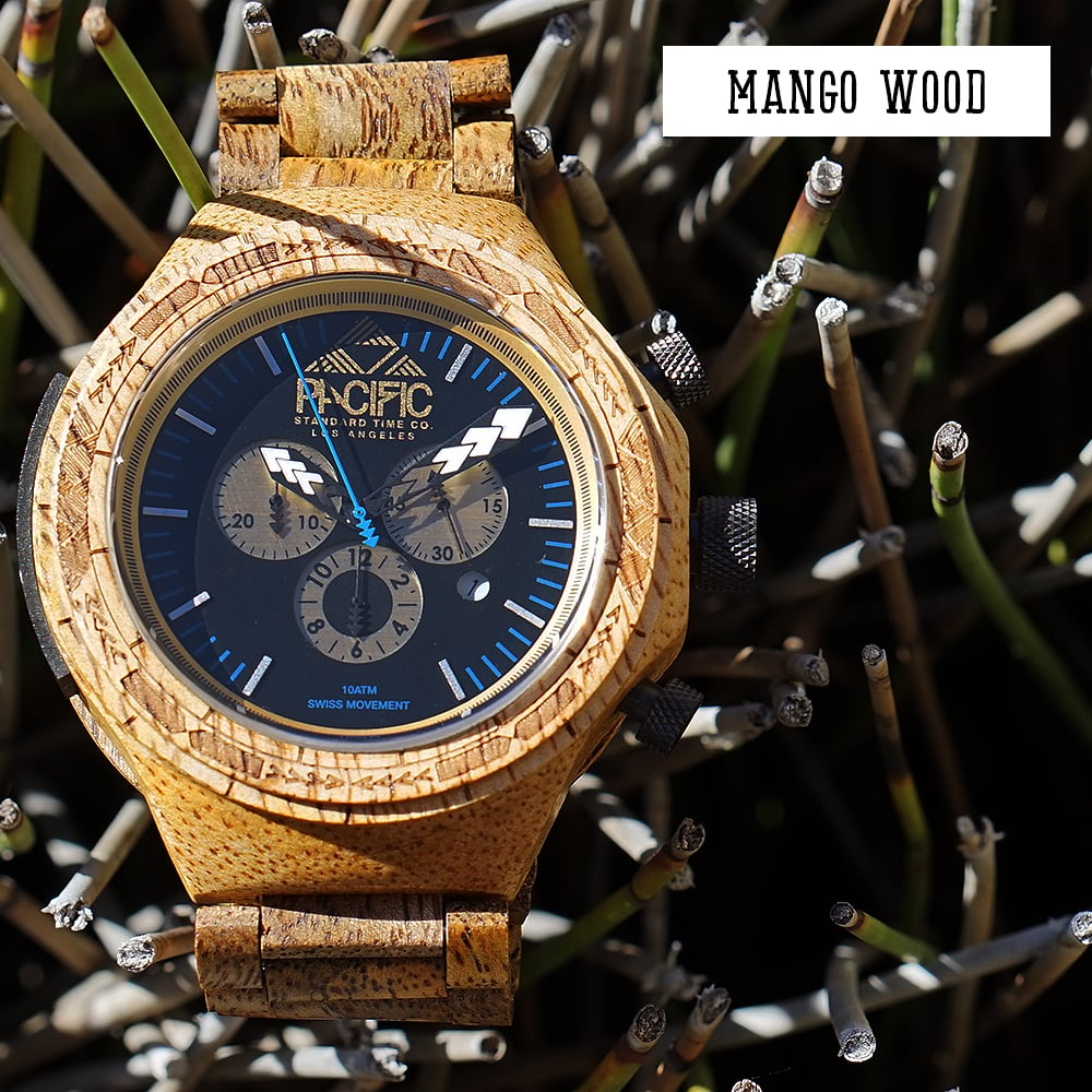 Pacific Standard Time Company- Hawaiian Mango Wood