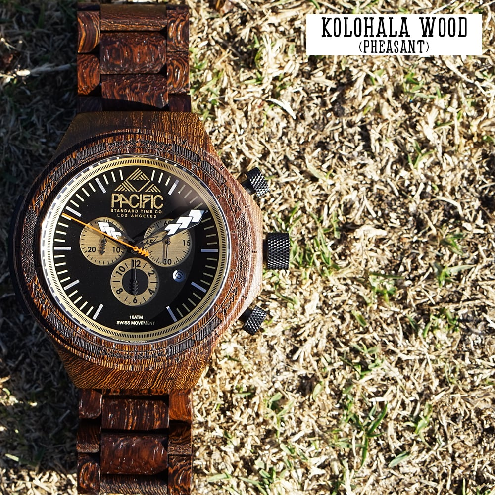 Pacific Standard Time Company- Kolohala (Hawaiian Pheasant) Wood