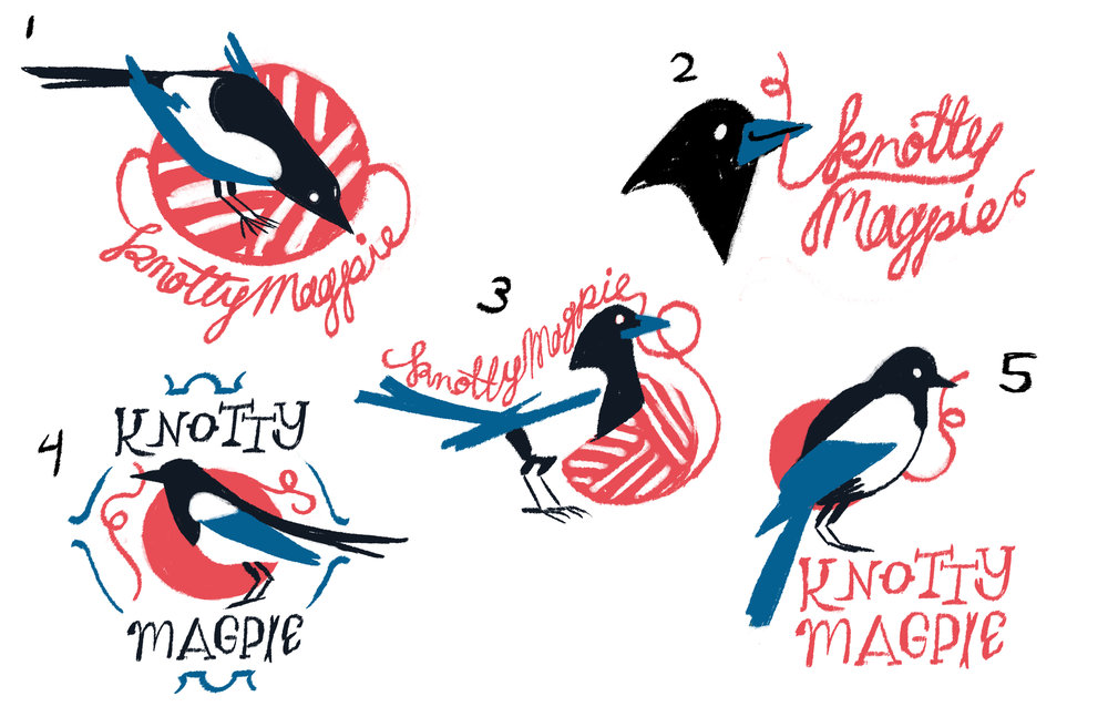 knottymagpie_logosketches.jpg