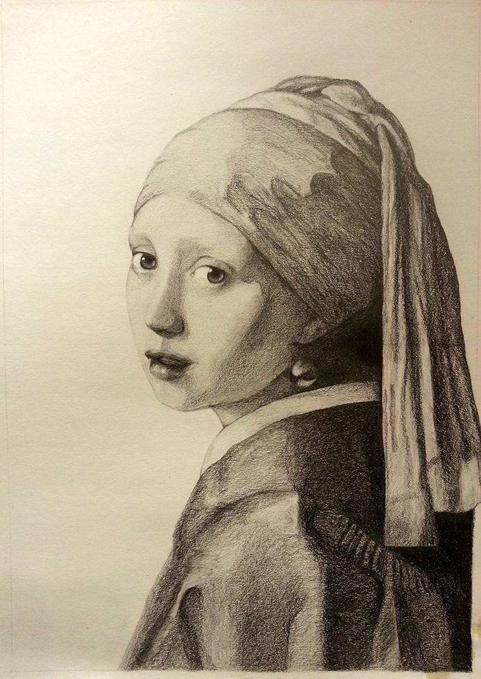 """""""Homage to Vermeer"""""""