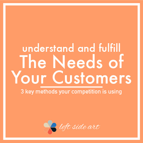 3 Methods to Understand the Needs of Your Customer to Gain Sales - left side art