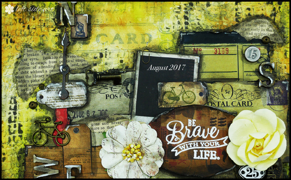 Be Brave - left side art