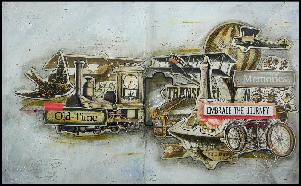 Left Side Art - Monthly Inspiration - Free Download