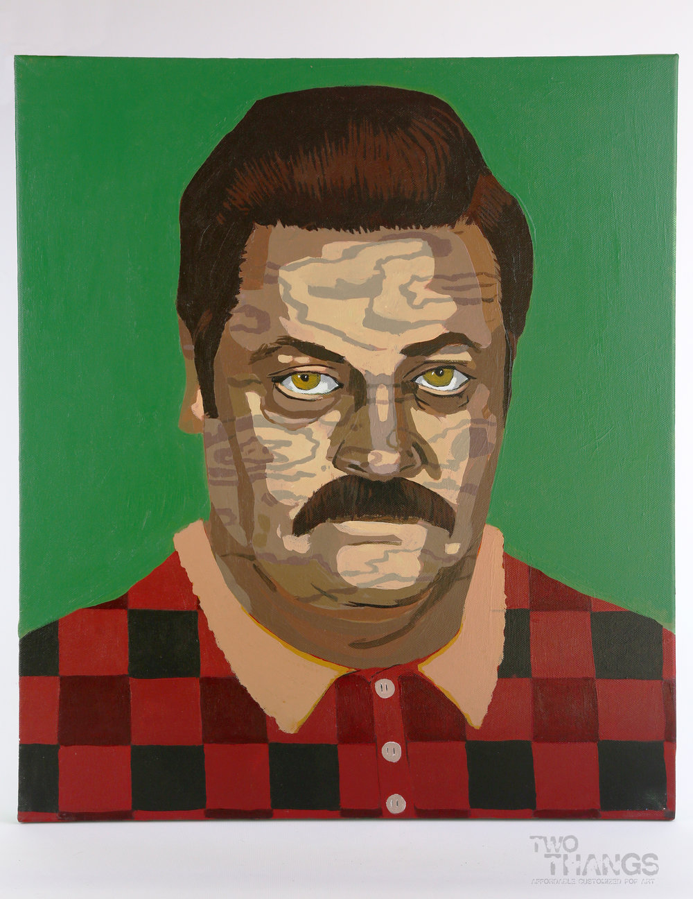 Ron Swanson / Wood Grain