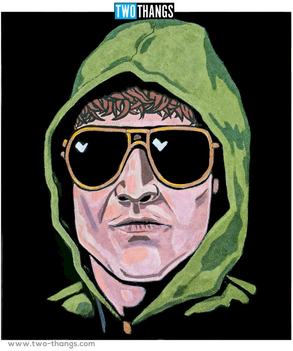 Unabomber on Black Velvet