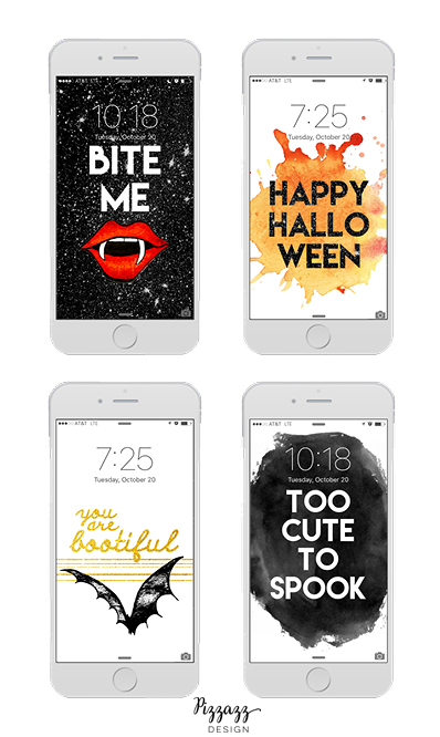 Free Spooky Halloween iPhone Wallpapers! Pizzazz Design Blog