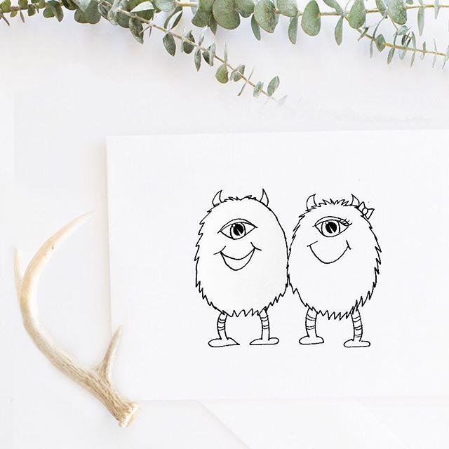 Some fun little #monster #doodles . . . . . . . #instaart #instaartist #illustration #drawing #sketch #sketchbook #seattleart #seattleartist