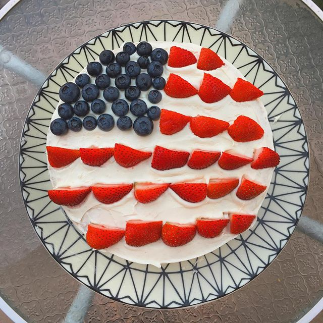 Cake Decorating 😍❤️💙🇺🇸 Happy 4th!