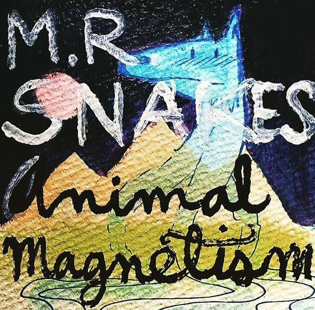 New music in the works.  #mrsnakes #emrsnakes #mrsnakesmusic #emrsnakesmusic #animalmagnetism #snakeheads #recording #newmusic 🐍🔴 Art by @hedrawsgood
