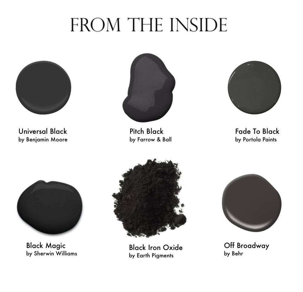 From the Inside NYC Black Color Picks