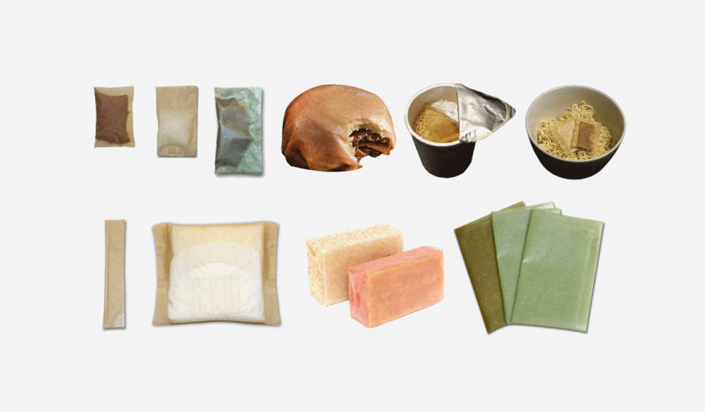 Evoware's seaweed-based packaging