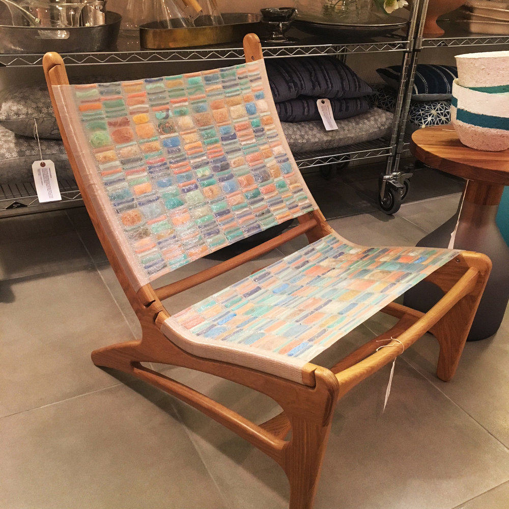Debris Lounge Chair, available at Mint