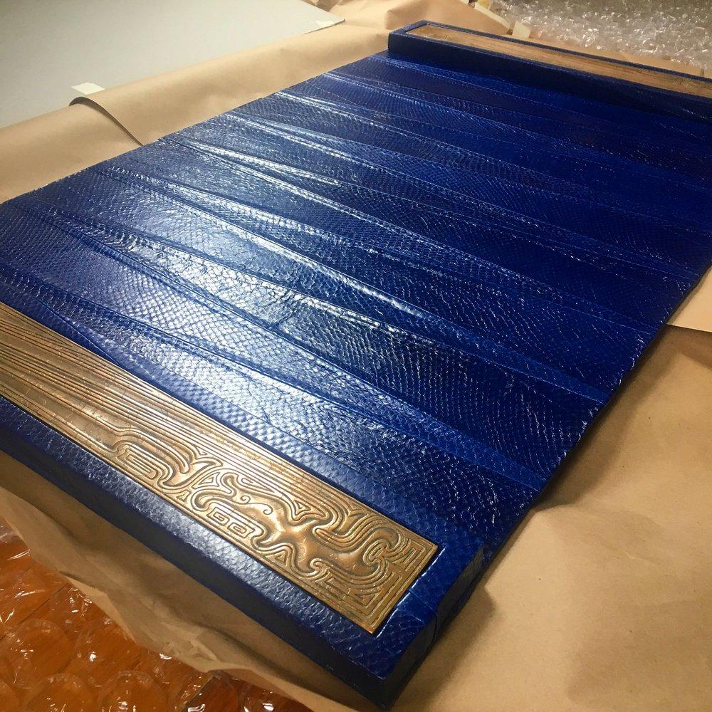 blue salmon_desk blotter.JPG
