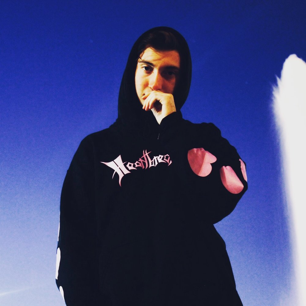 Heartbreakers Brand Hoodie Shot In Philadelphia.