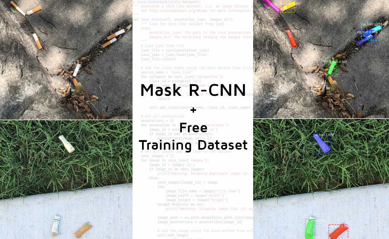 Using Mask R-CNN with a Custom COCO-like Dataset — Immersive Limit