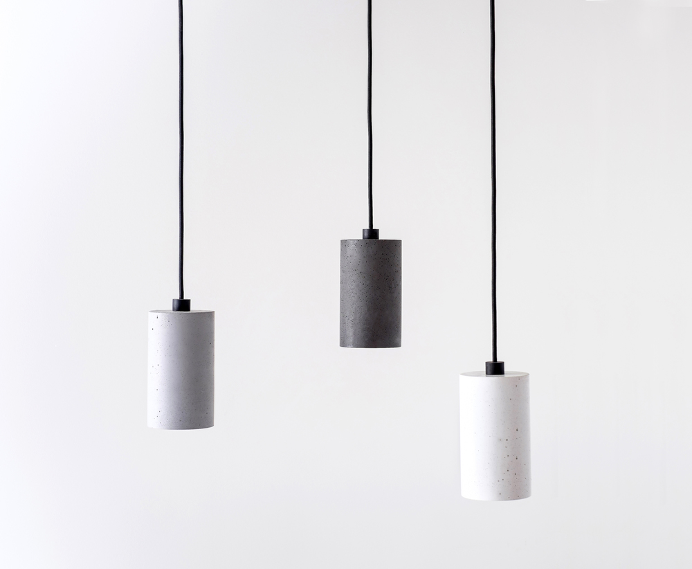 Toob Concrete Pendant Light