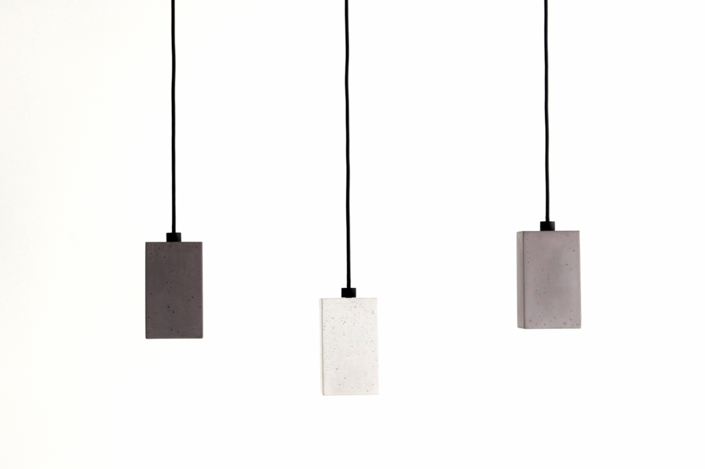 Blok Concrete Pendant Lights