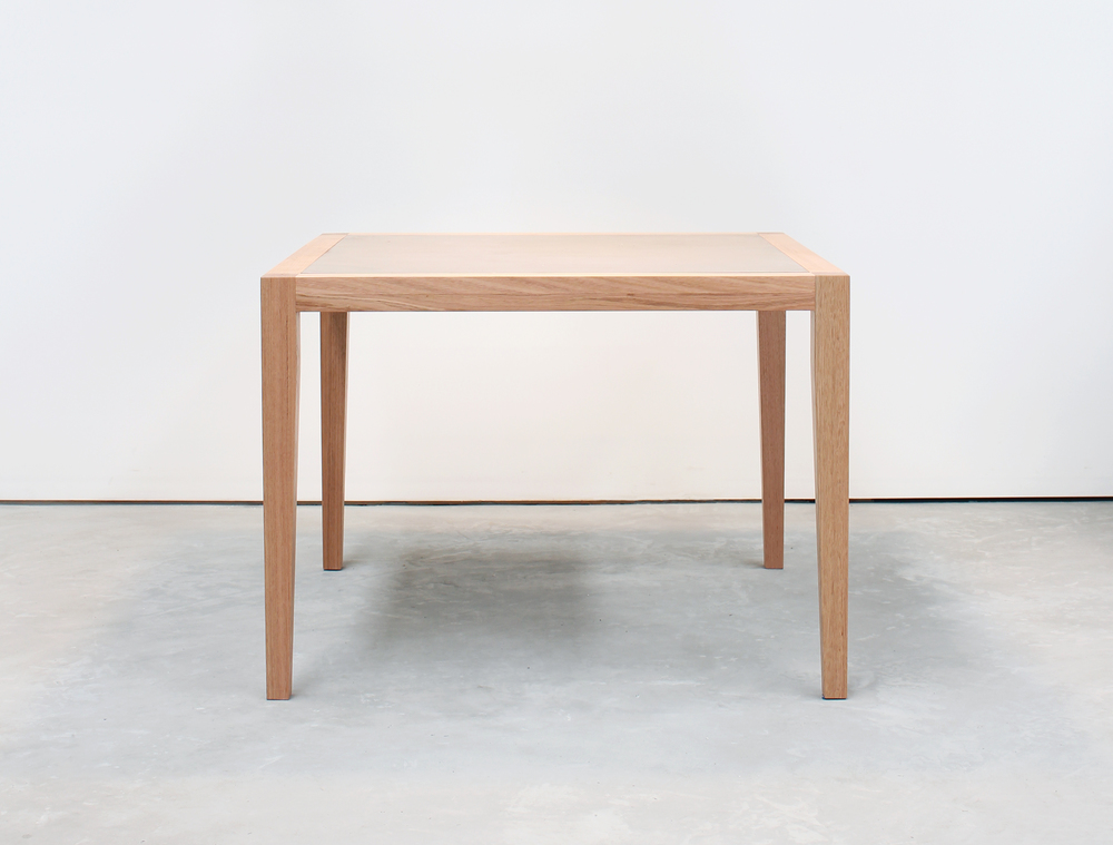 Neli Timber and Concrete Dining Table - 4 Seat