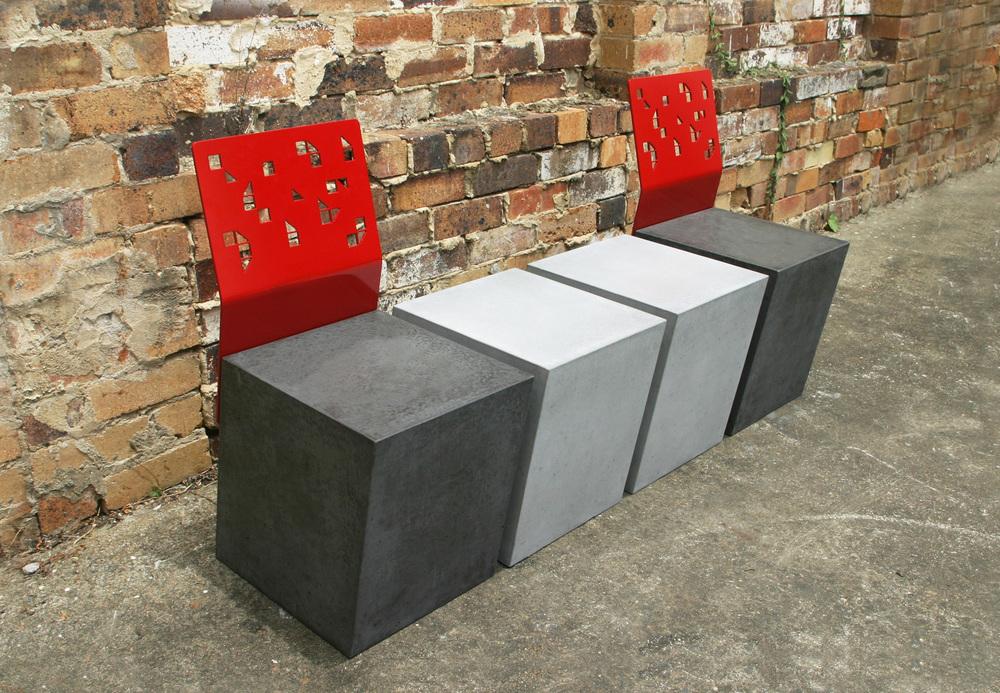 Boksi Concrete Seat Module