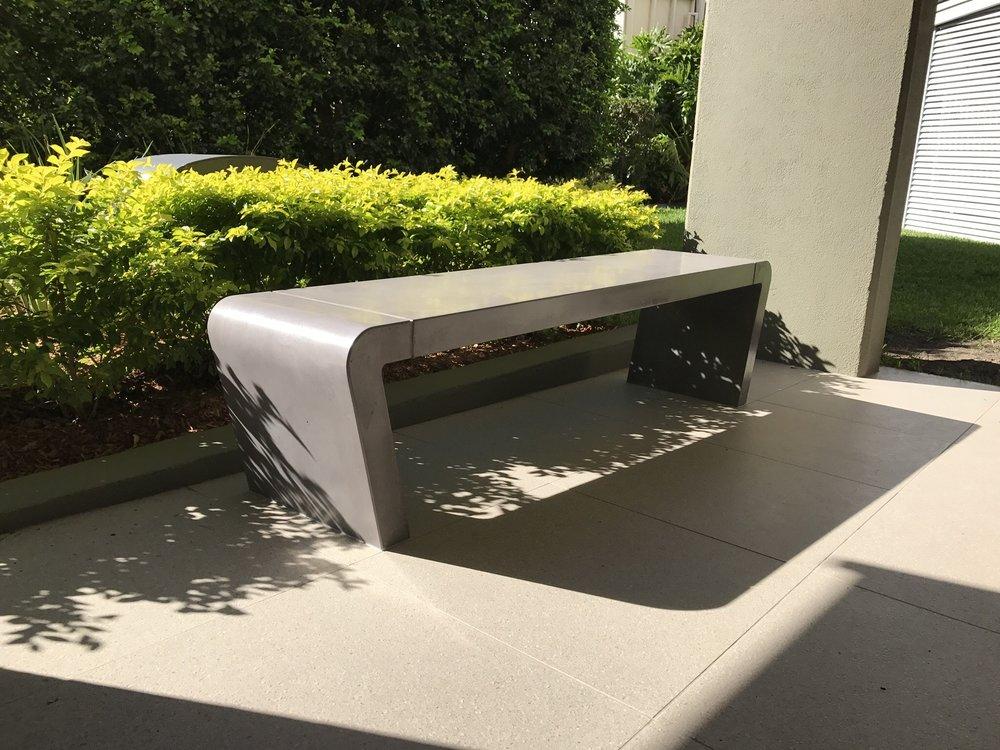 Istu Concrete Bench Seat - Full Concrete