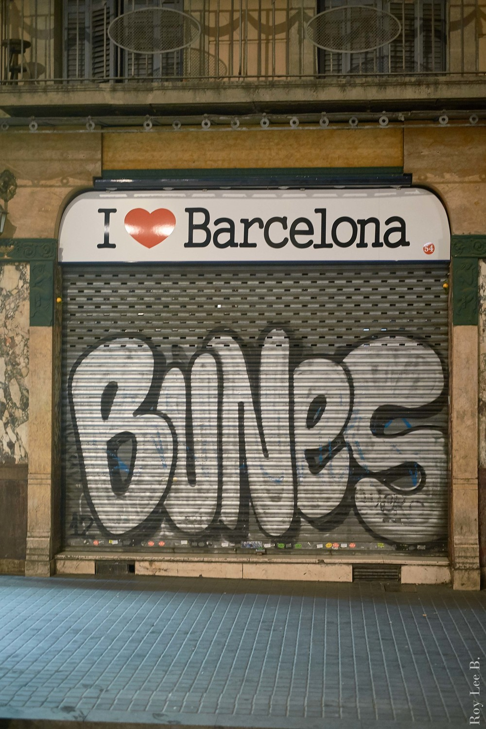 First time in Europe.  Barcelona 2014.