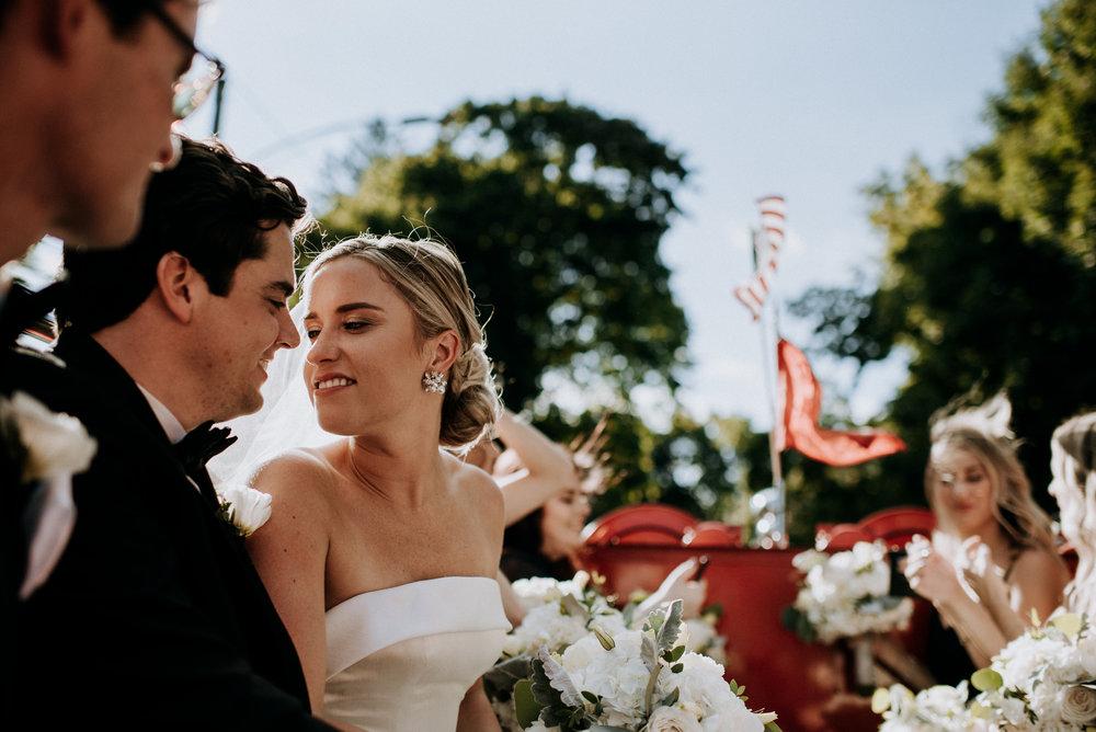 katie + kyle / new canaan, ct / wedding