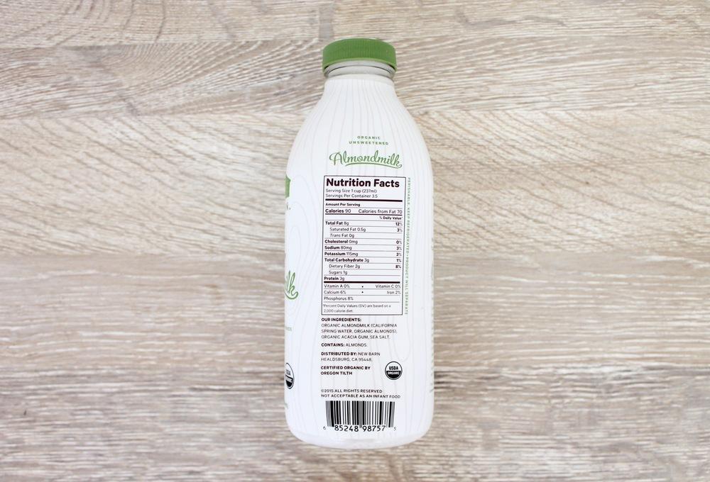 New Barn Unsweetened Almondmilk