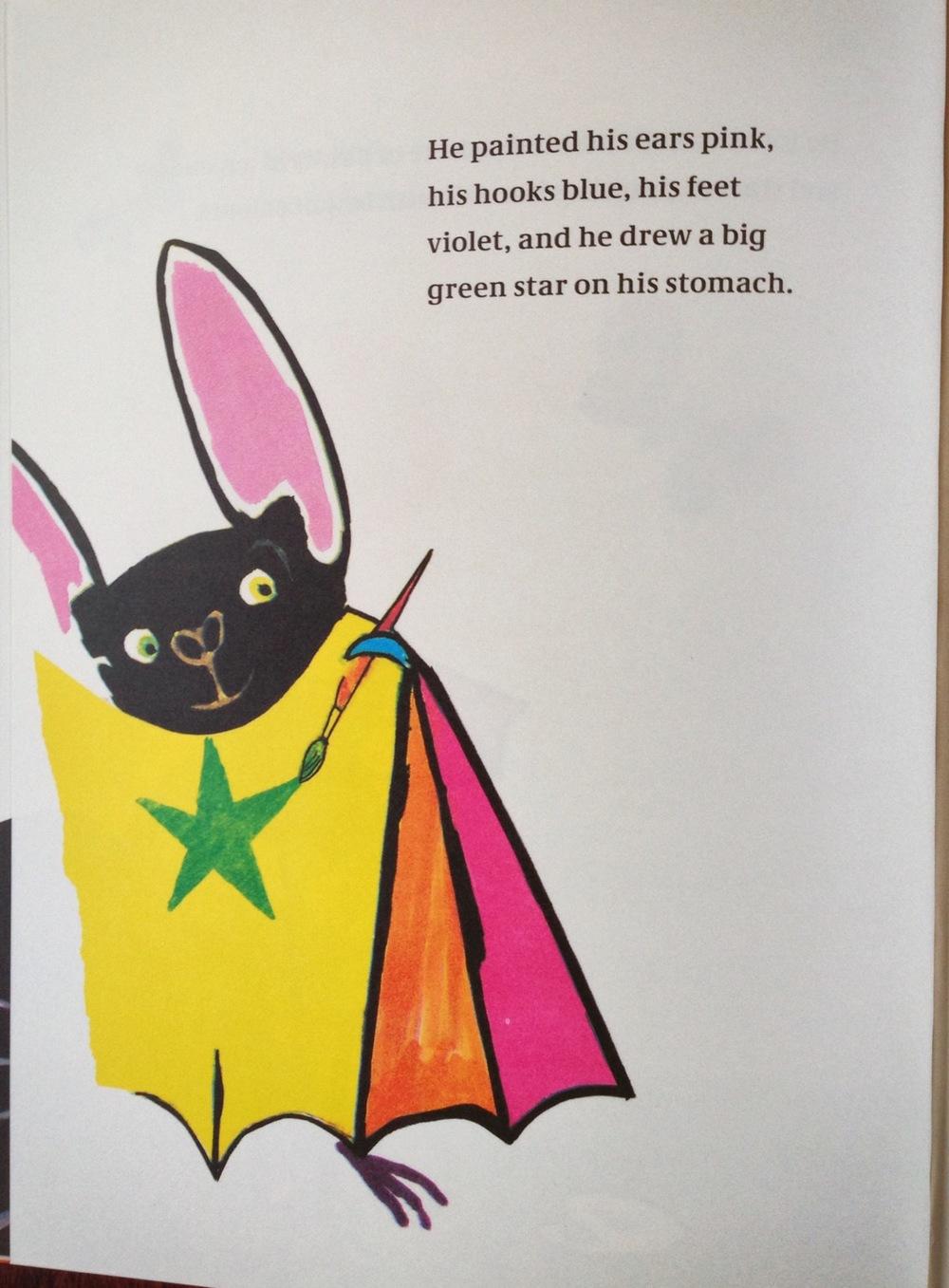 Rufus, not your average bat.