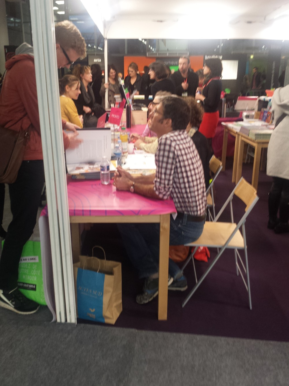 SLPJ is a great chance for readers of all ages to meet the writers and illustrators.