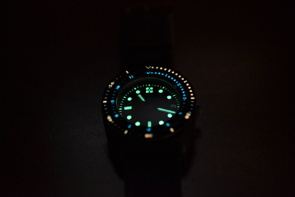 Companion Watch - Delrin & Moondust