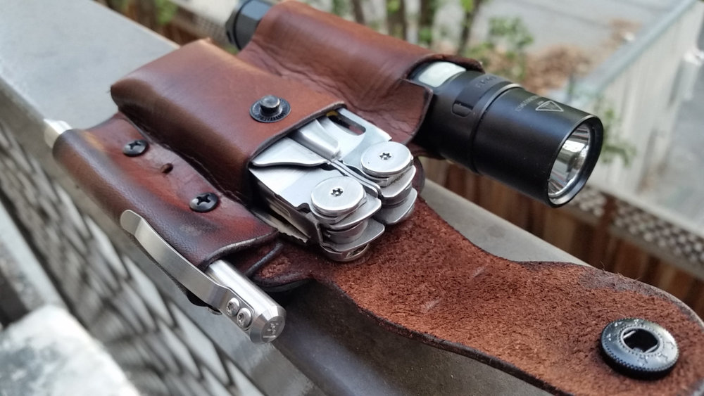 Belt Rig - Dark Brown