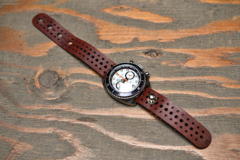 rally stud passthrough watch strap nick mankey designs