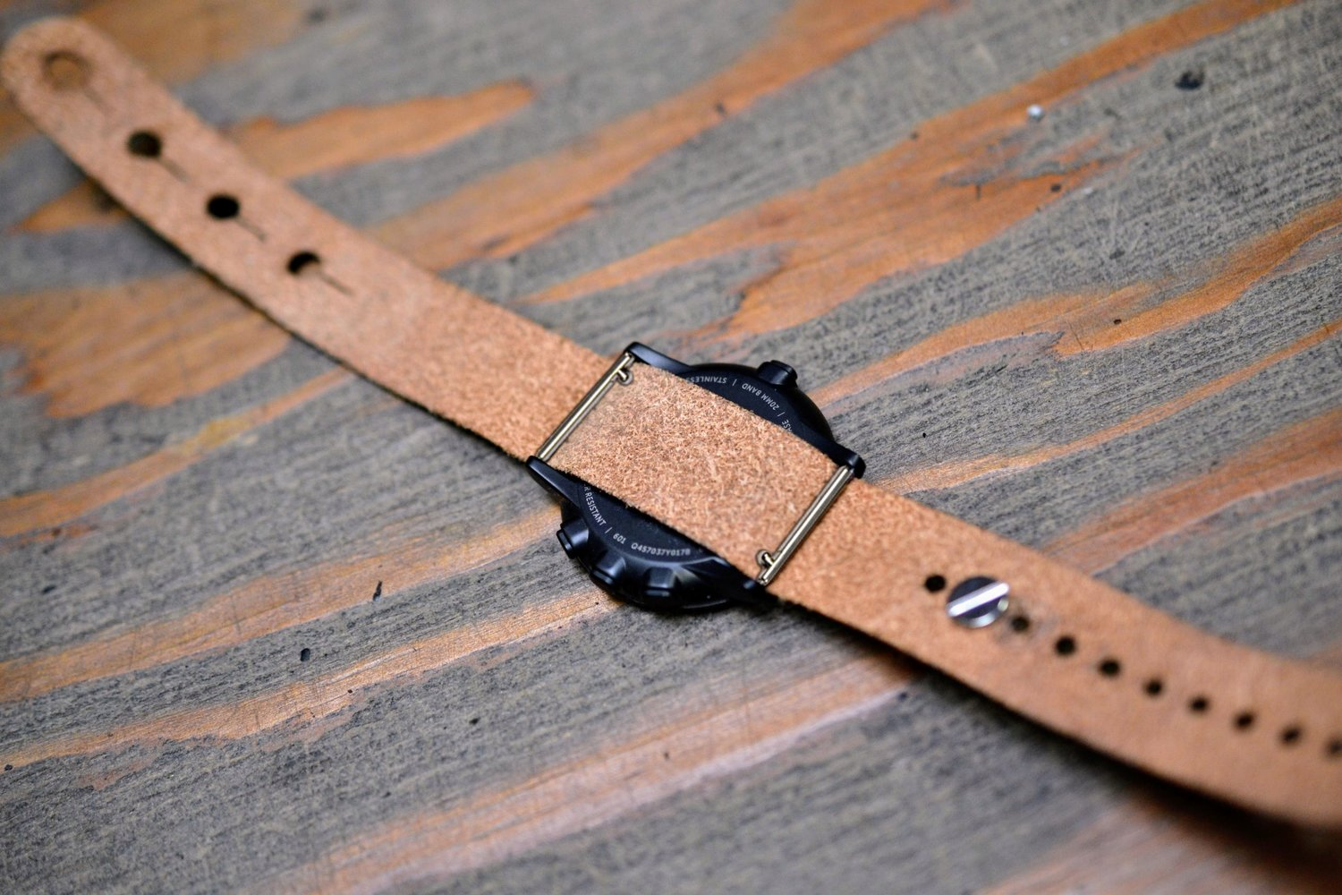 f7383c7d8c0 Pebble Time Round 20mm Kit - Ruler Stud Passthrough Watch Strap ...