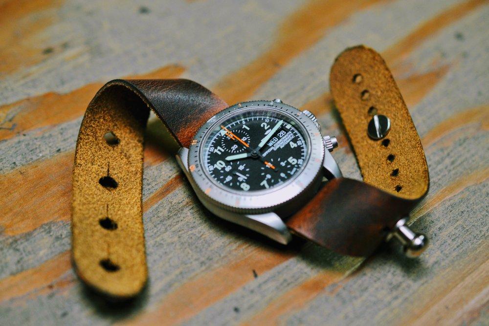 'Autumn Harvest' Redux Stud Watch Strap