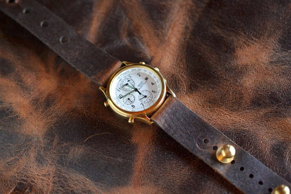 *NEW* Wheat Harvest Redux Watch Strap