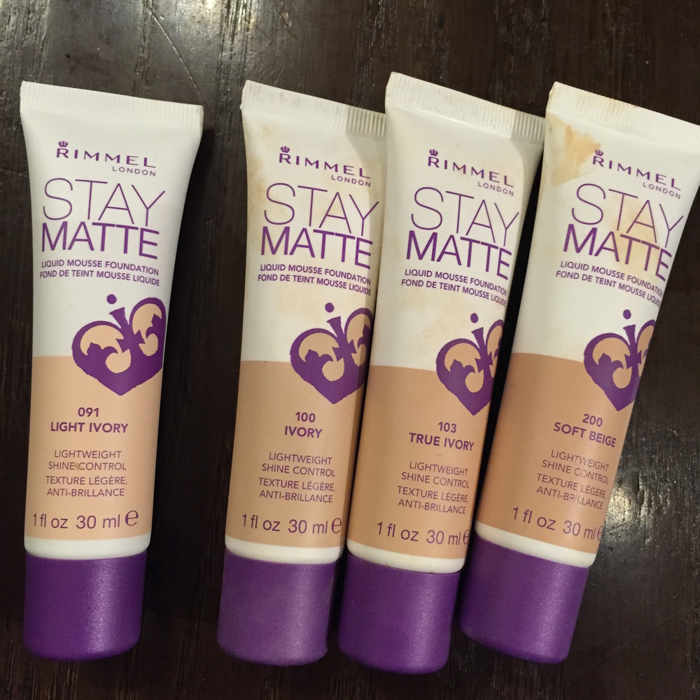 Rimmel Stay Matte Liquid Mousse Foundation Such A Surprise 366 These Got Lot Of Use At The Photo Shoot However You Can See