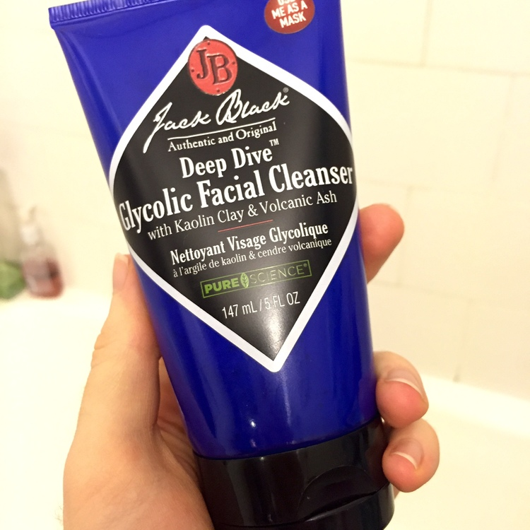 Deep Dive Glycolic Facial Cleanser by Jack Black #22