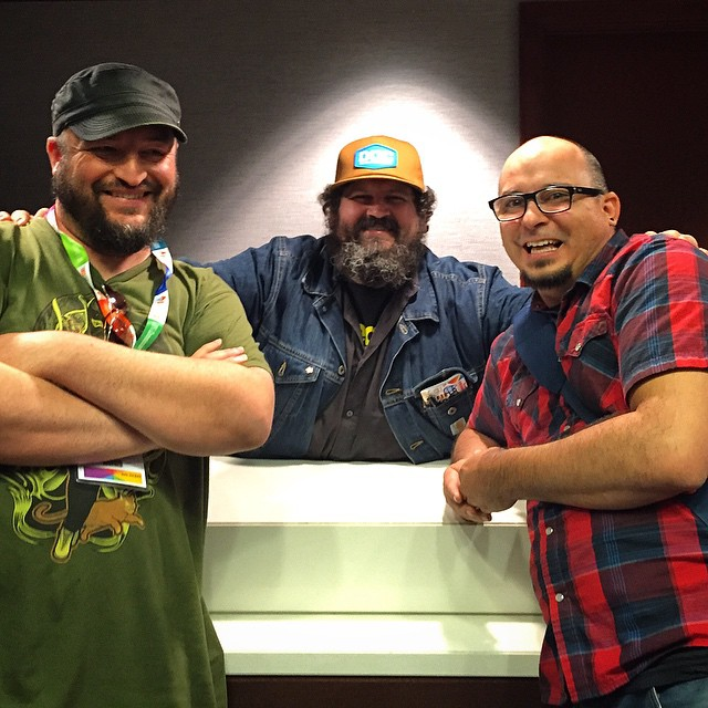 Instagriz snap with the one and only @draplin  What an amazingly inspirational dude with a beautiful heart. #howdesign #howdesignlive