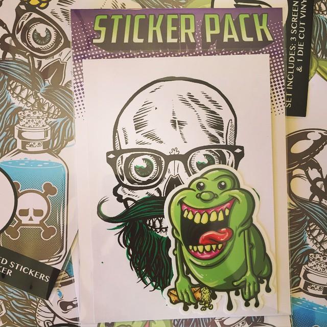 Sticker Packs are ready to go for wizard World Las Vegas! #stickers #wwlv #lasvegas #wizardworld