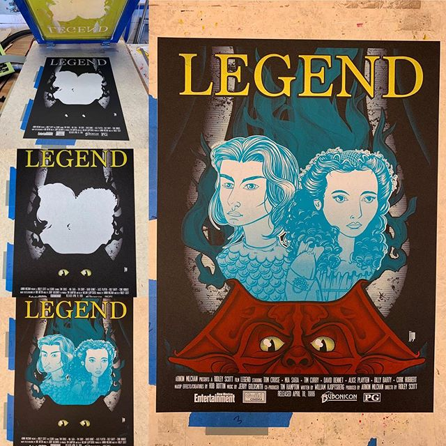 Coming up this Friday @ The Guild Cinema! #legend #theguildcinema #tomcruise #timcurry #miasara #albuquerque #burque