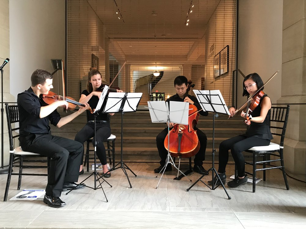 Pioneer orchestra musicians regularly perform in the community