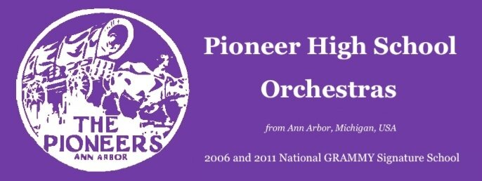 Pioneer High School Orchestras