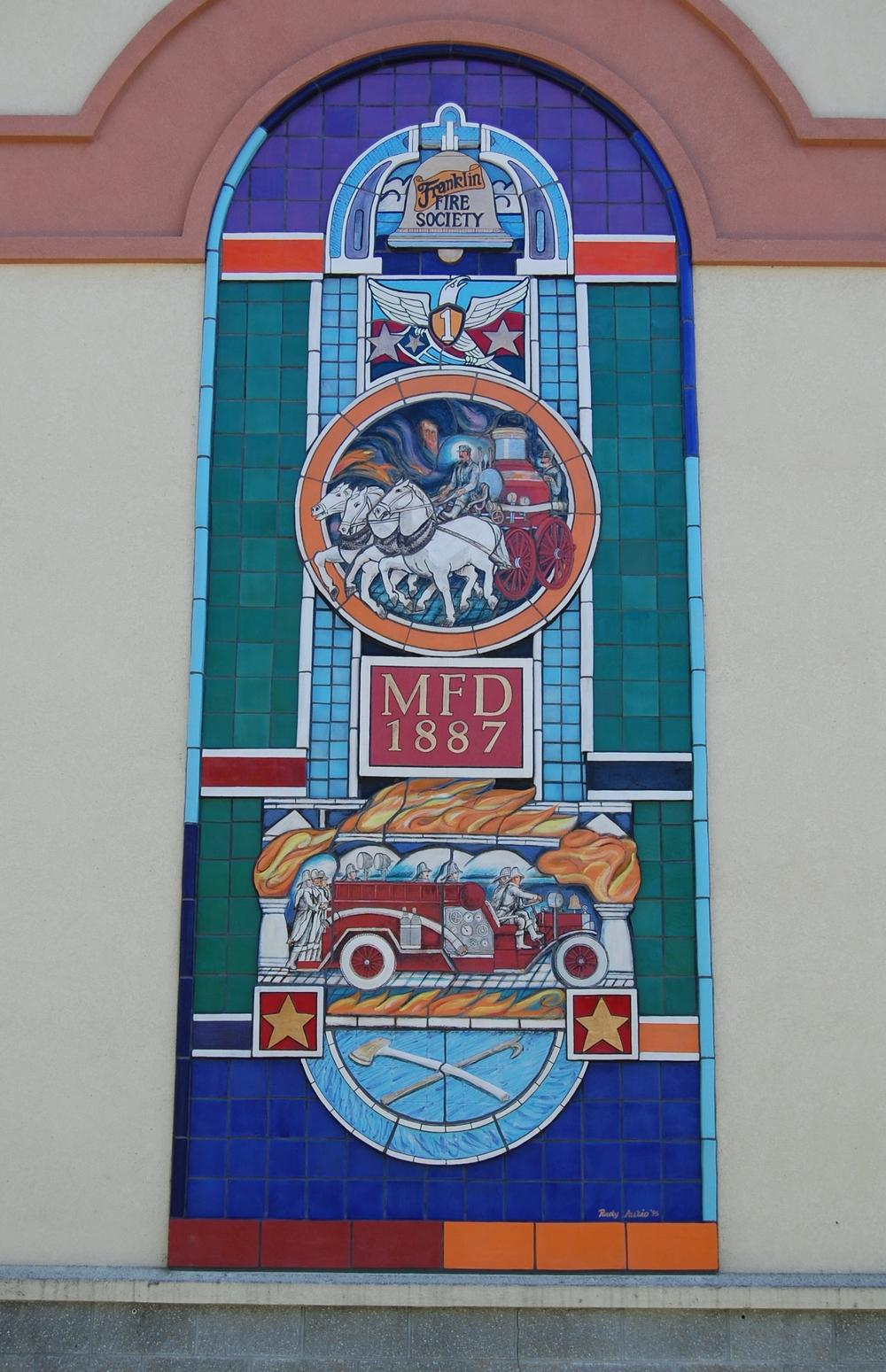 MCFD Mural
