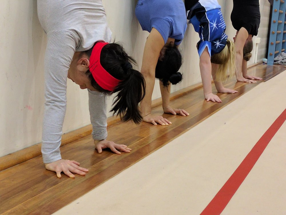 GROUP CLASSES - GYMNASTICS BASED TRAINING