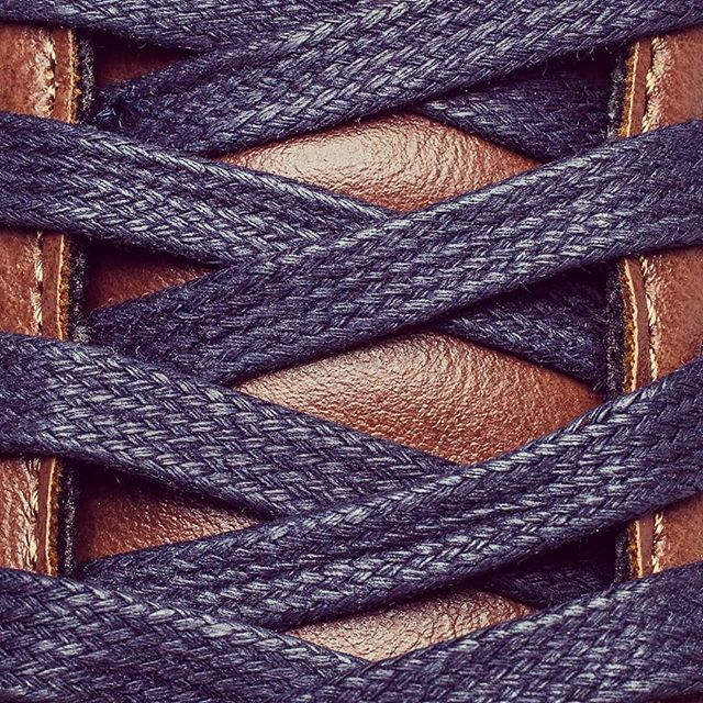 Simple. Versatile. Deep Navy waxed street laces. #beautifullycrafted