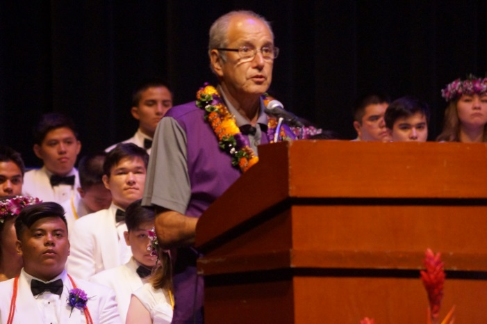 Floyd Baptist '66, former Chairman of the Board
